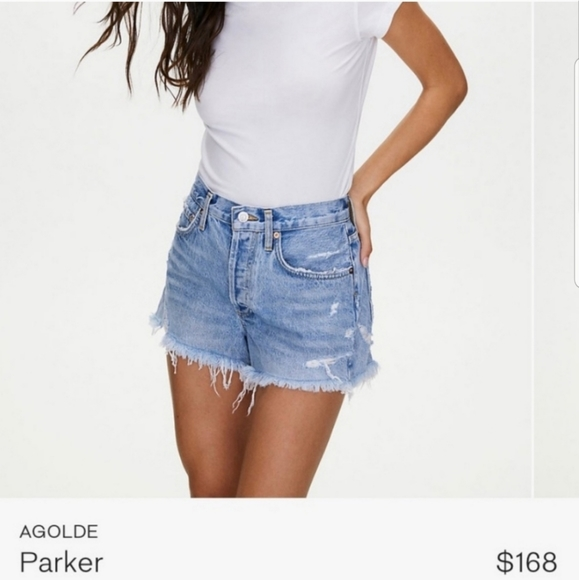 AGOLDE Parker shorts in swapmeet